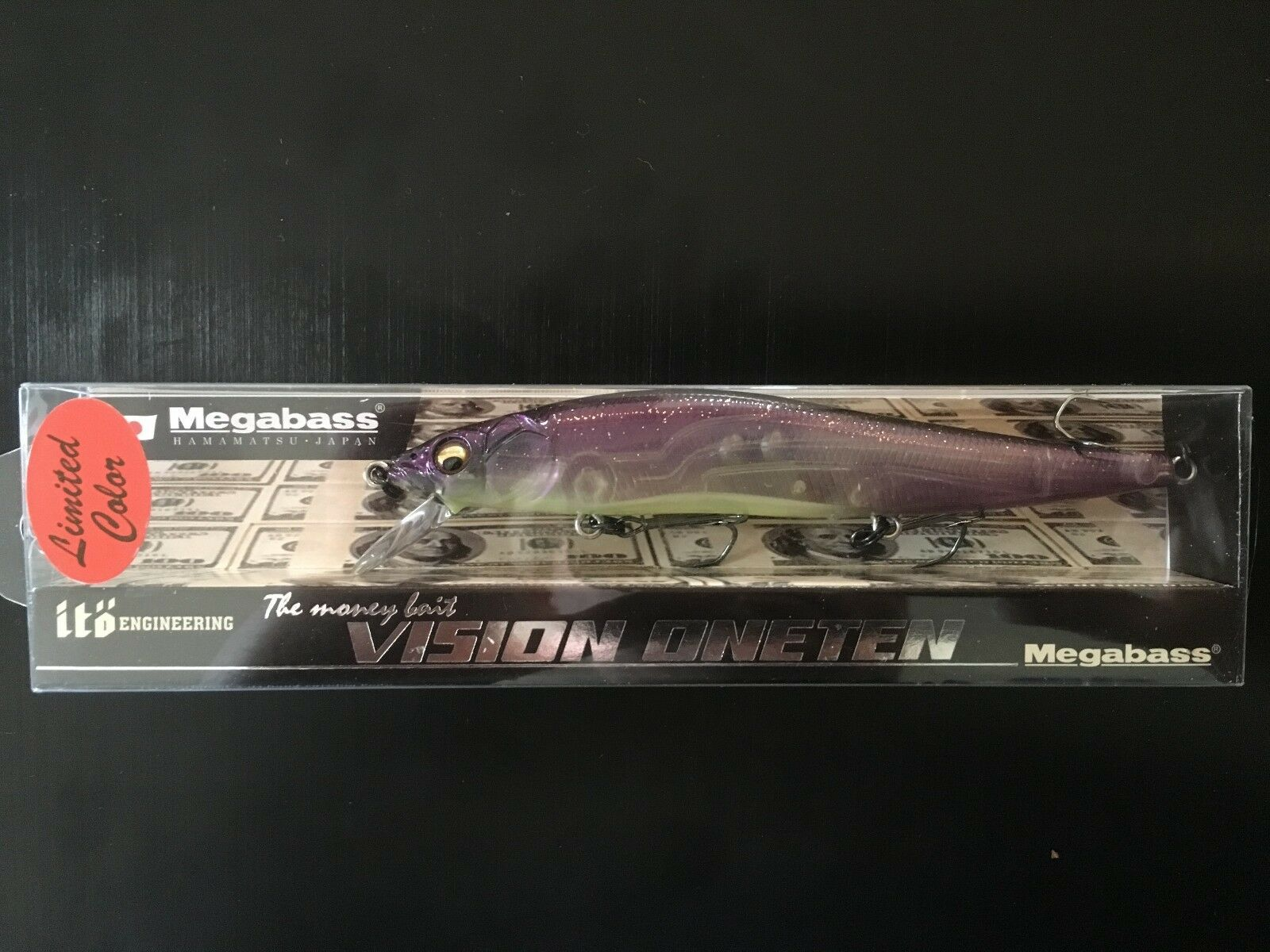 Megabass Ito Vision ONETEN 110 EZO Iwana Premium Limited Color for 1600x1200