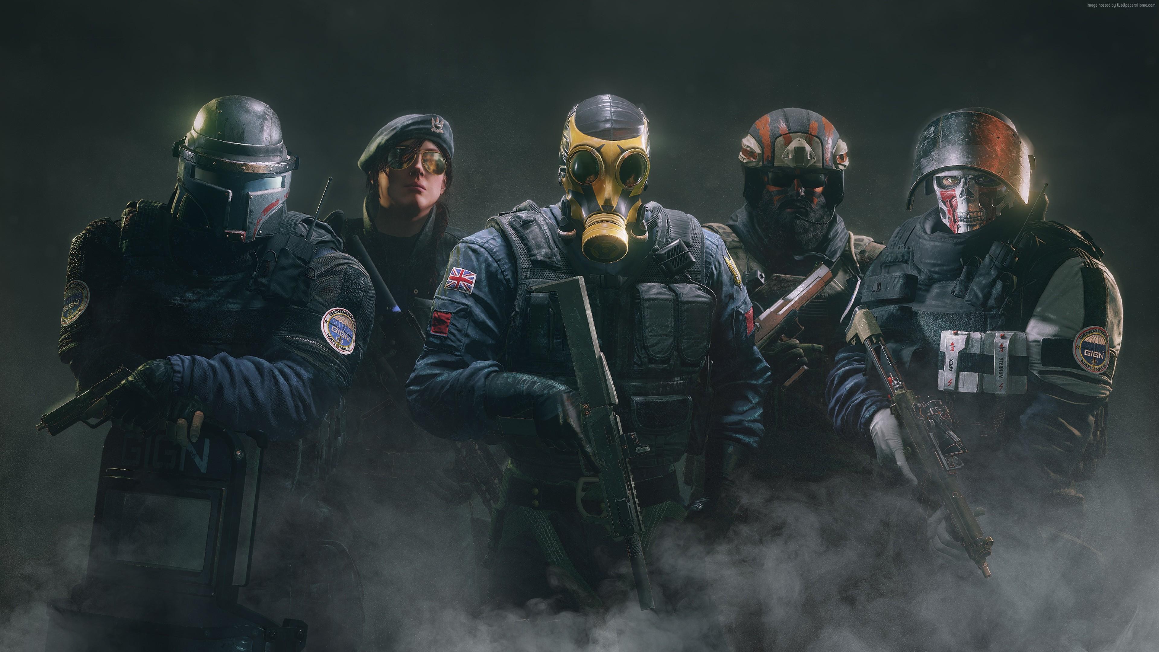 Tom Clancys Rainbow Six Siege best games operation black ice 3840x2160