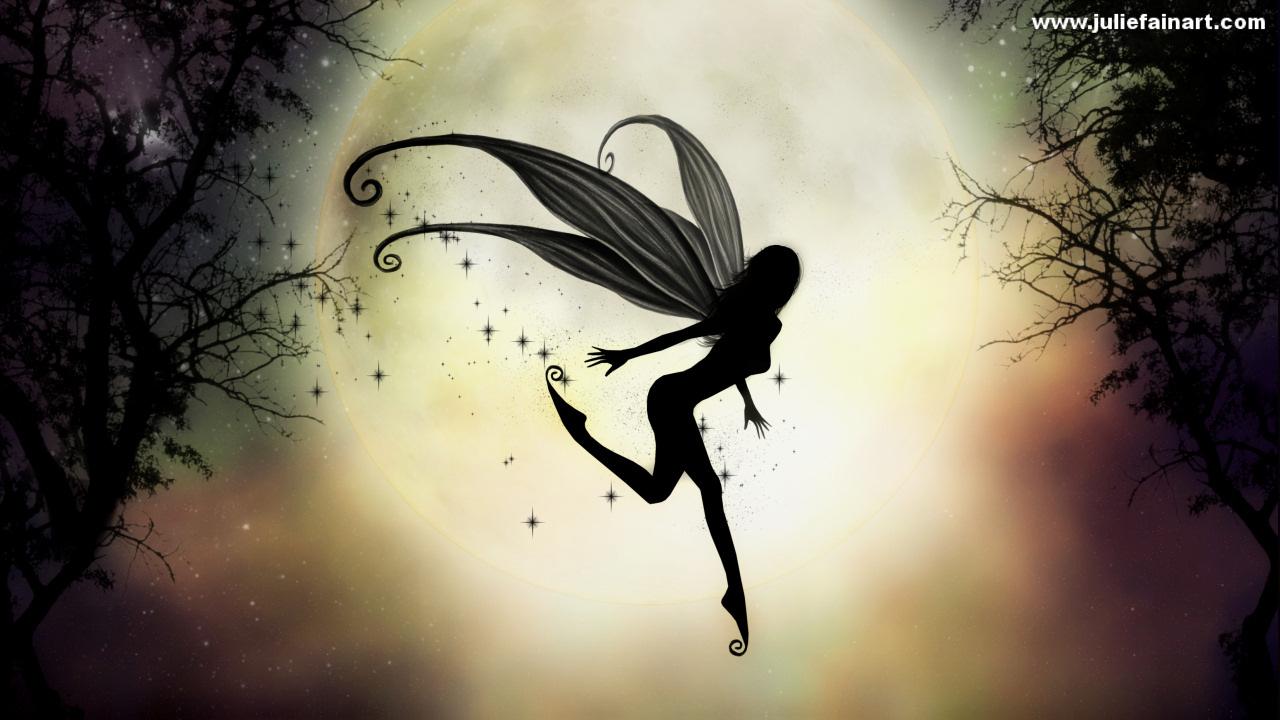 Fairy Wallpaper Background MoonlitWater by JulieFain1280jpg 1280x720