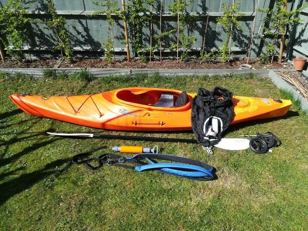 Robson Waikiki recreational touring kayak and paddling kit for sale 1024x768