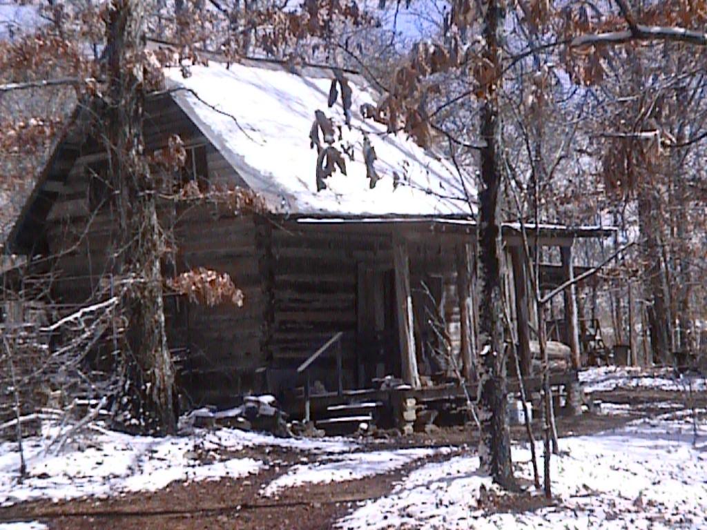 Log cabin in snow wallpaper wallpapersafari