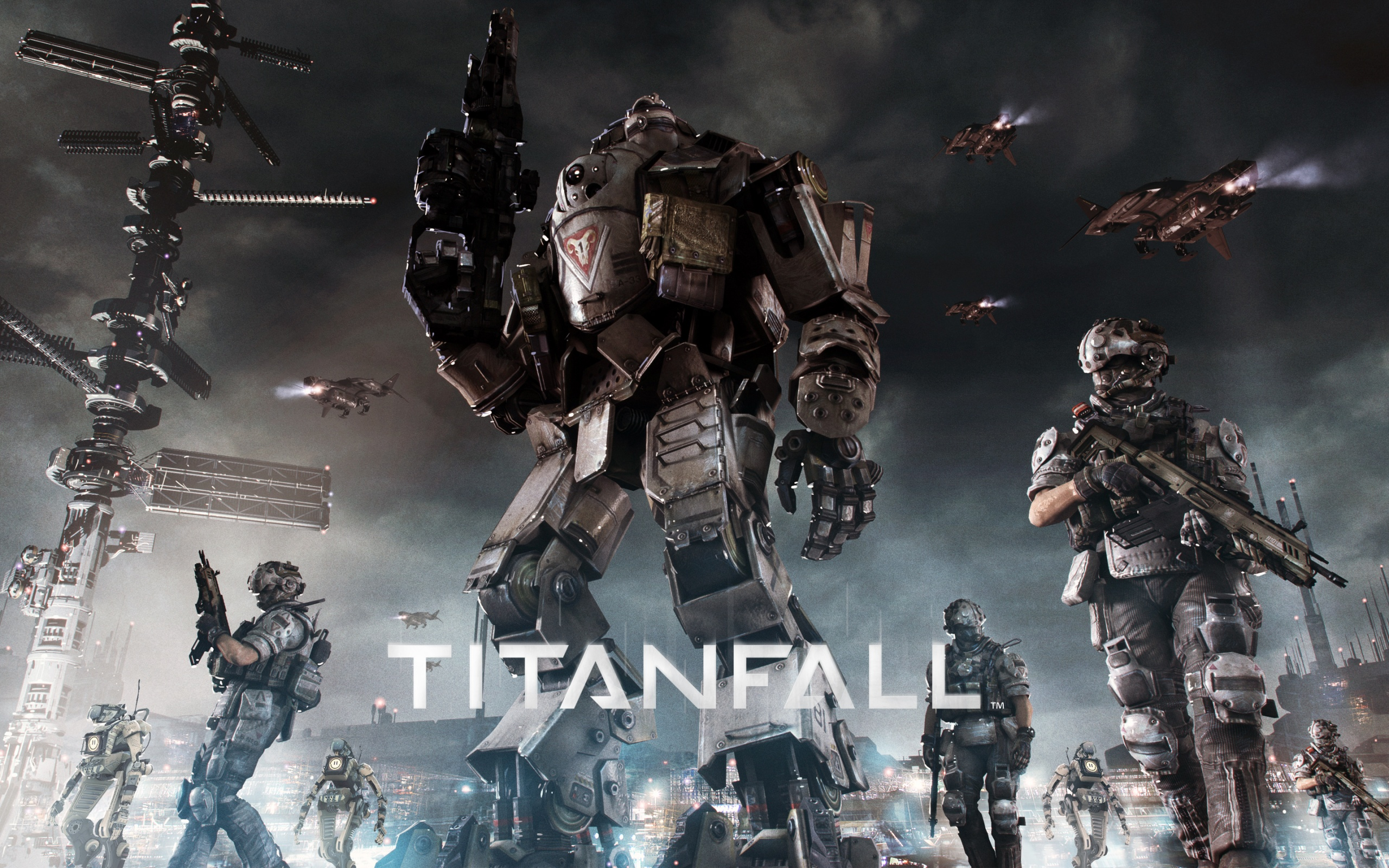 Titanfall Game Wallpapers HD Wallpapers 2560x1600