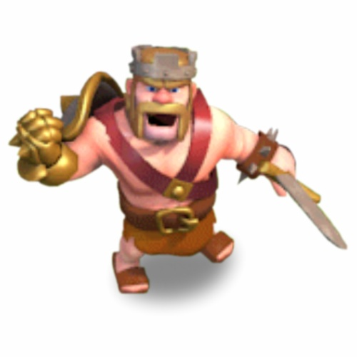 Image   Barbarian King20jpg   Clash of Clans Wiki   Wikia 500x500