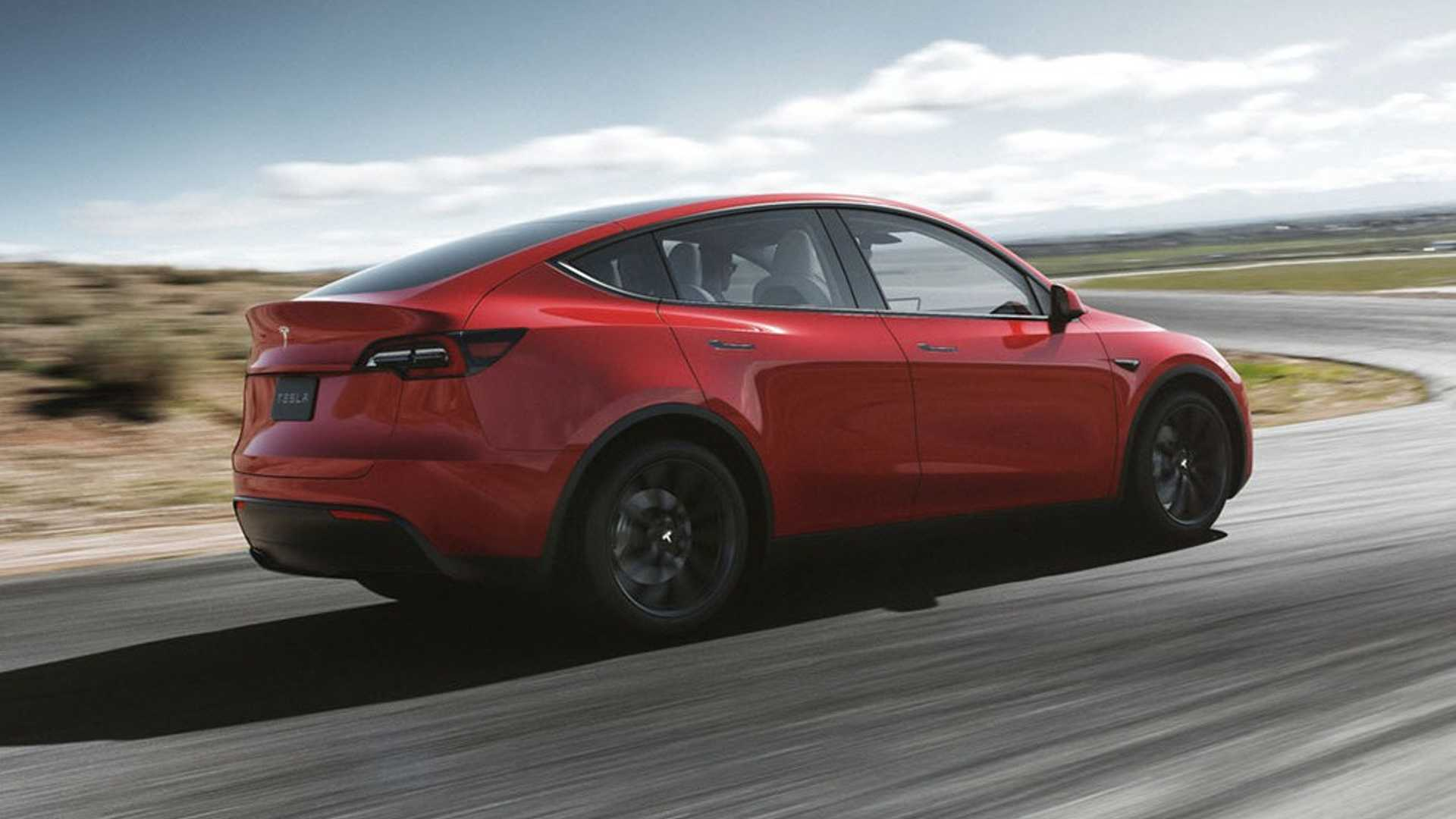 2021 Tesla Model Y Rear Three Quarter Wallpapers 5   NewCarCars 1920x1080
