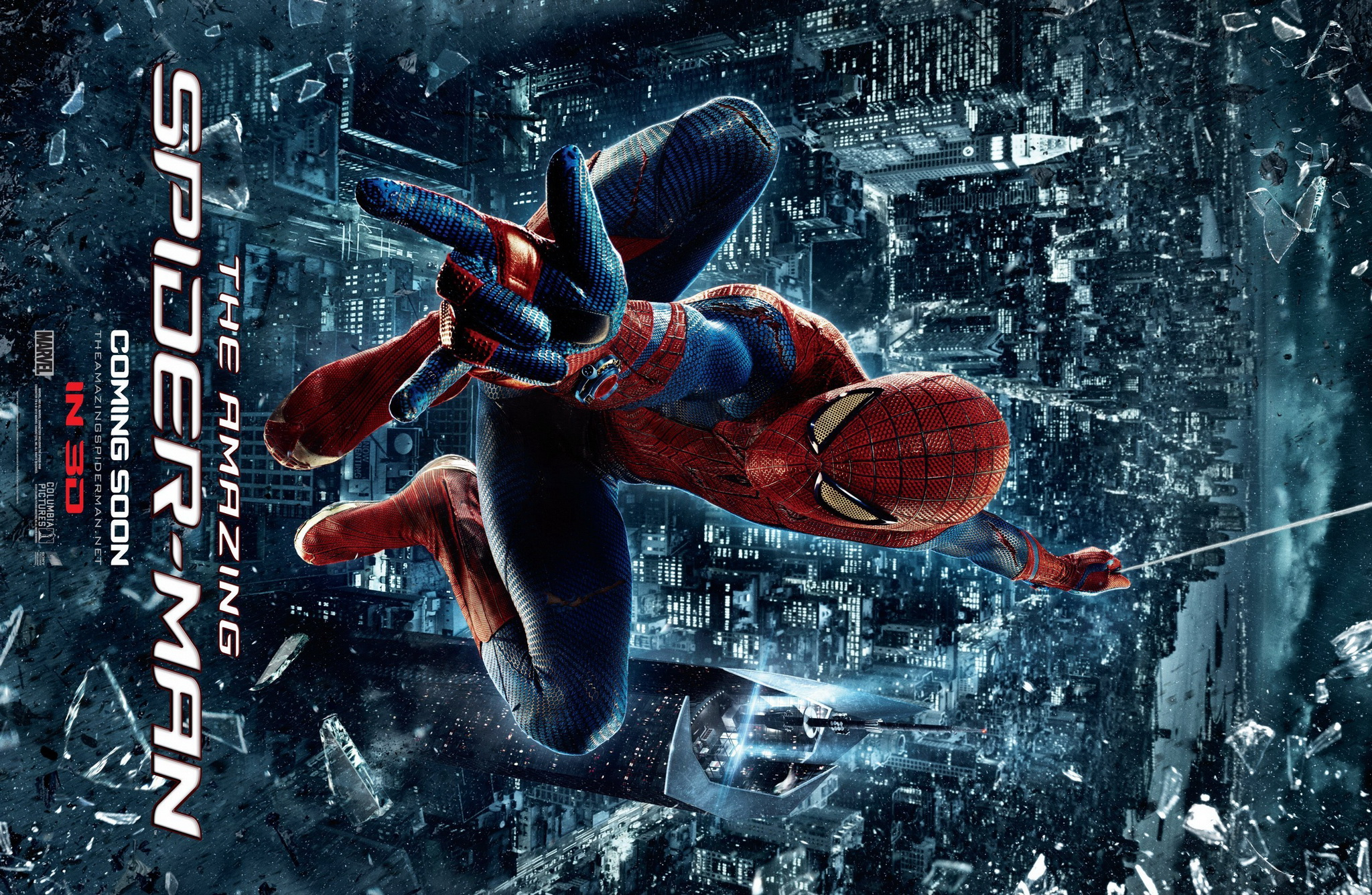 Spiderman Live Wallpaper Hd: The Amazing Spider Man 3 Wallpaper