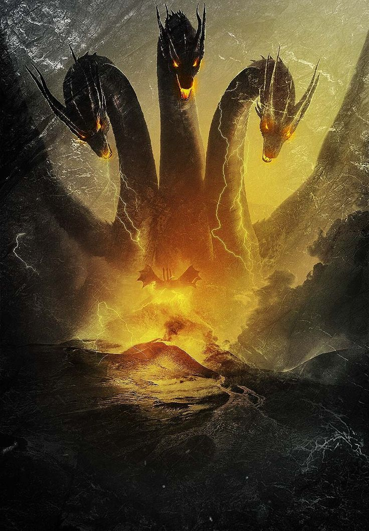 Browse ghidorah Images and Ideas 736x1058