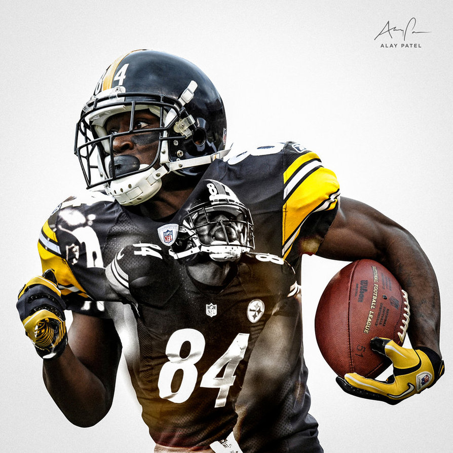 Antonio Brown   Pittsburgh Steelers by alaypatel 894x894