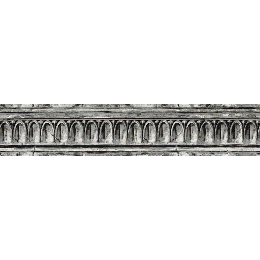 Black And Grey Crown Molding Prepasted Wallpaper Border at Lowescom 900x900