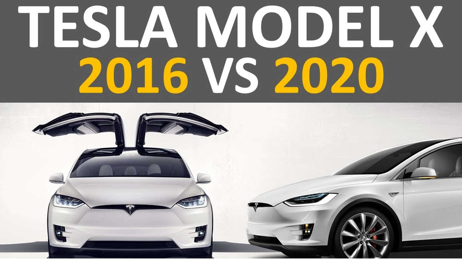 2016 Vs 2020 Tesla Model X Whats Improved Changes Charted 1920x1080