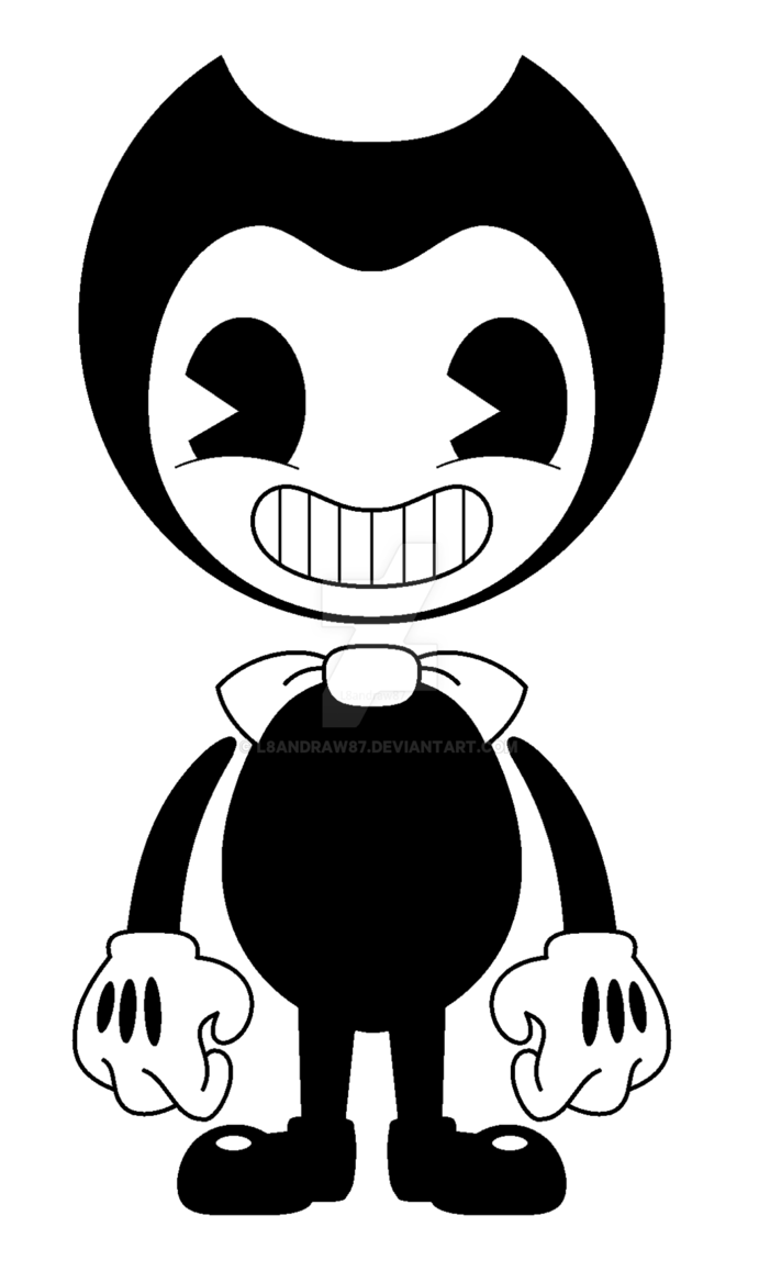 Transparent Bendy Image by Andy Hazards Bendy and the ink 691x1157