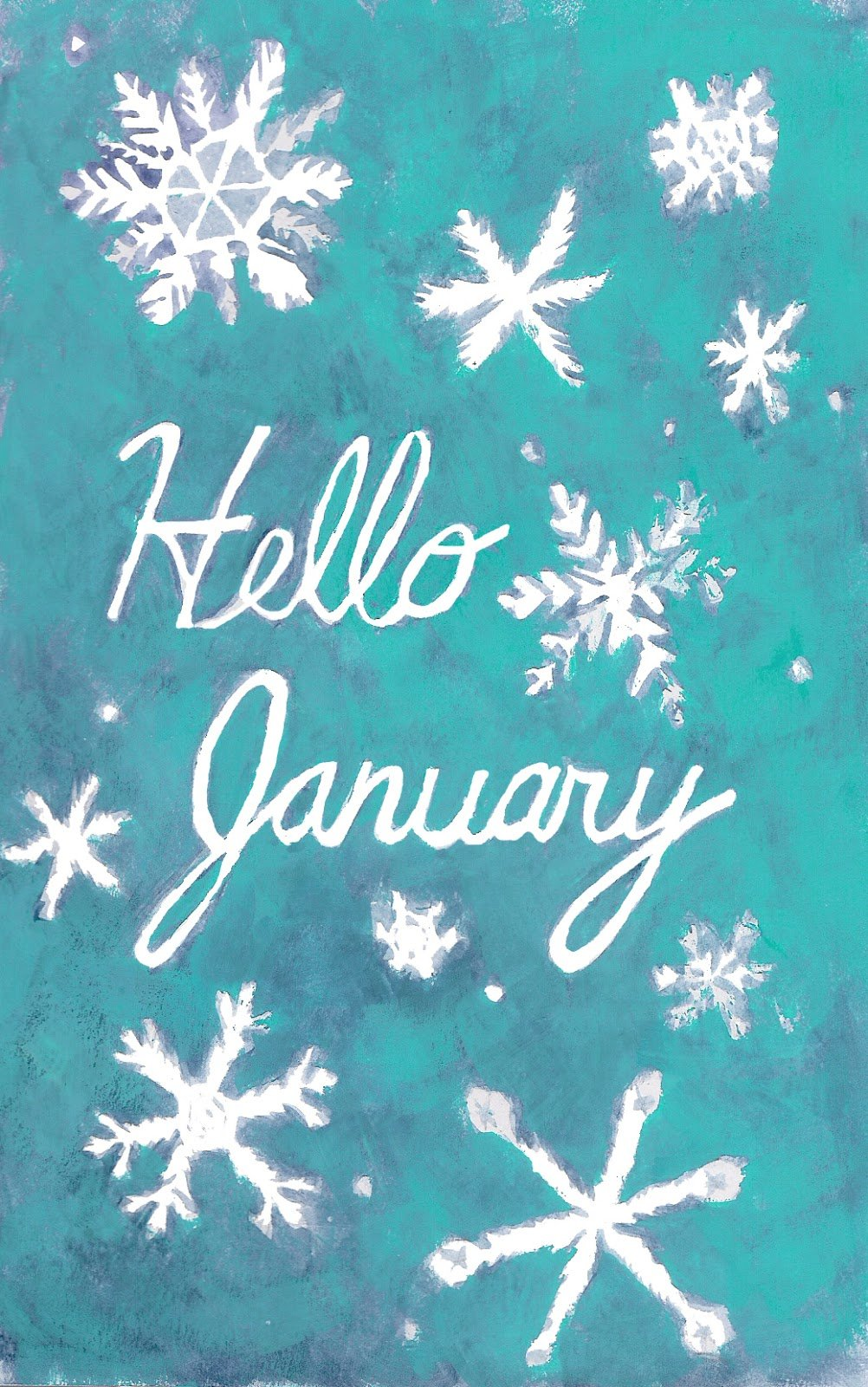 Heather Powers Art Hello January Wallpapers 1002x1600