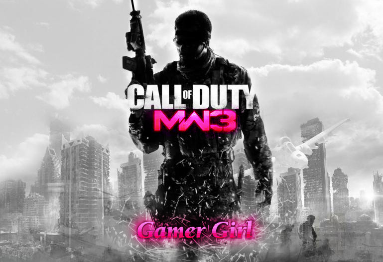 COD wallpaper GAMER GIRL by UlfurHeimar 769x525