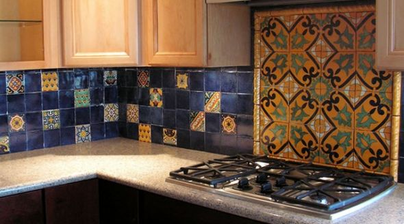 Mexican Tile   Decorative Talavera Mexican Tile   HD Wallpapers 590x328