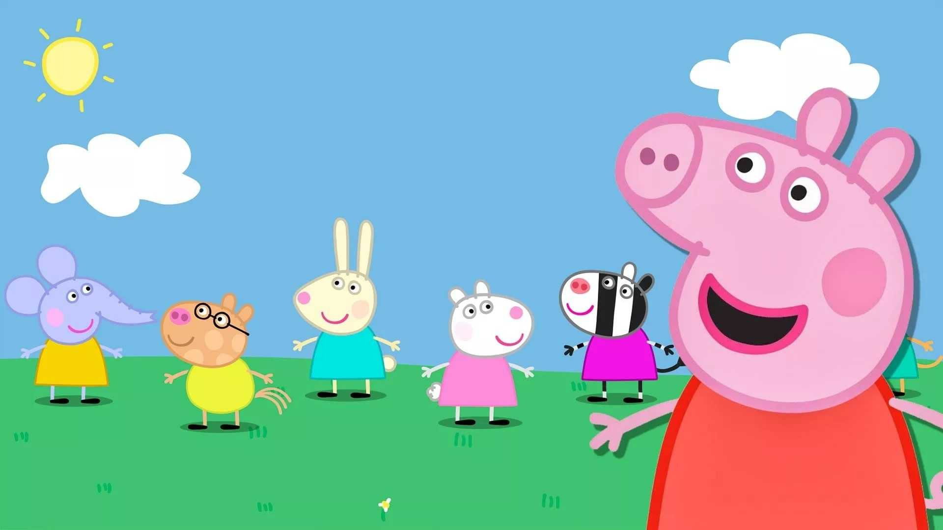Peppa Pig House Wallpaper   EnJpg