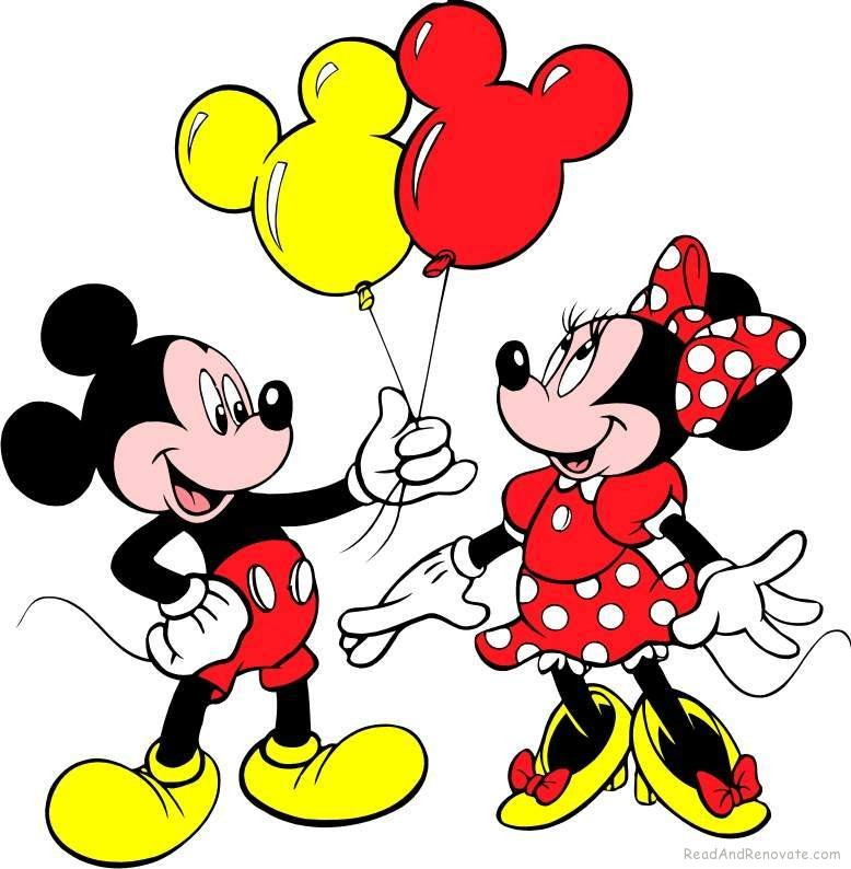 Mickey And Minnie Mouse Wallpaper The Art Mad Wallpapers 778x794