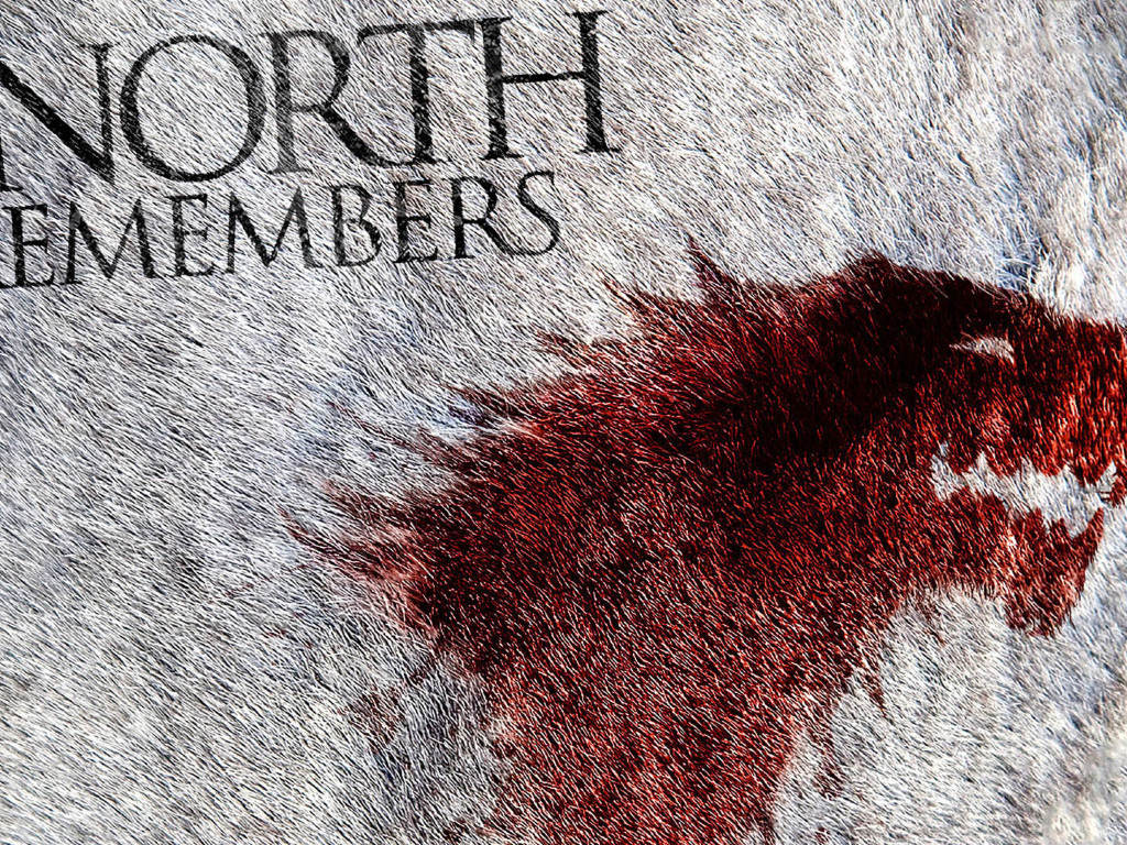 1024x768 The North Remembers Game Of Thrones Tv Show Wallpaper 1024x768