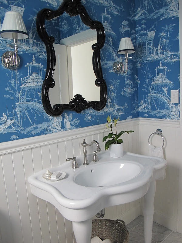 Free Download Beautiful Blue Chinoiserie Wallpaper In A Powder Room I Really Like 600x800 For Your Desktop Mobile Tablet Explore 48 Blue Chinoiserie Wallpaper Waverly Chinoiserie Wallpaper Where To,Rose Beautiful Flower Images Hd