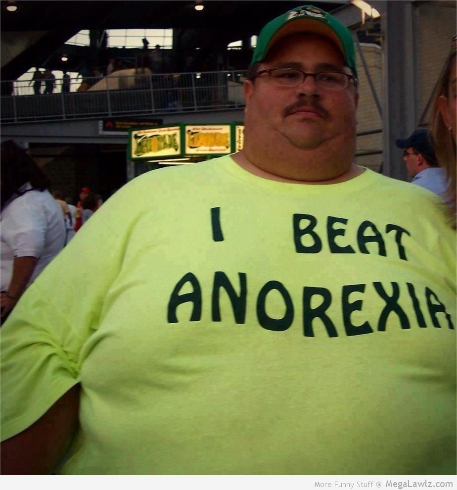 Is fat a guy to what Question: What