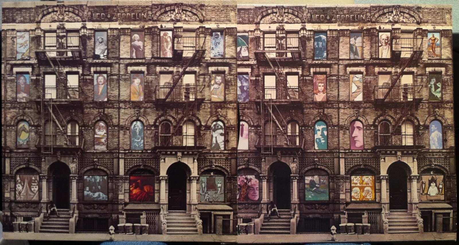 Free download Heavy Rock Led Zeppelin Physical Graffiti Classic