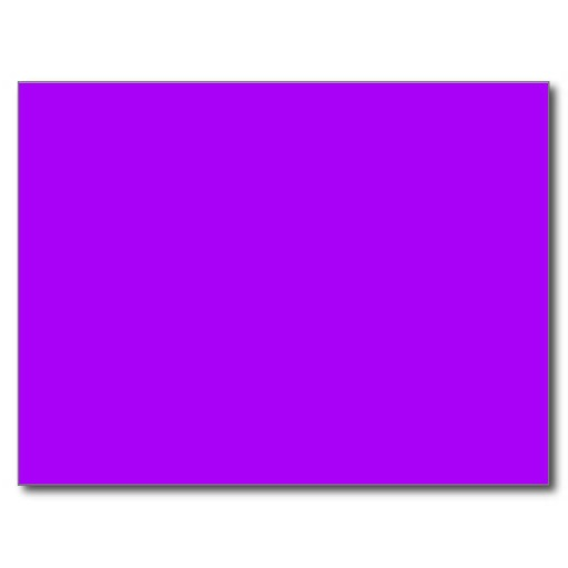 Bright Purple Fuchsia Neon Purple Color Only Postcard Zazzle 512x512