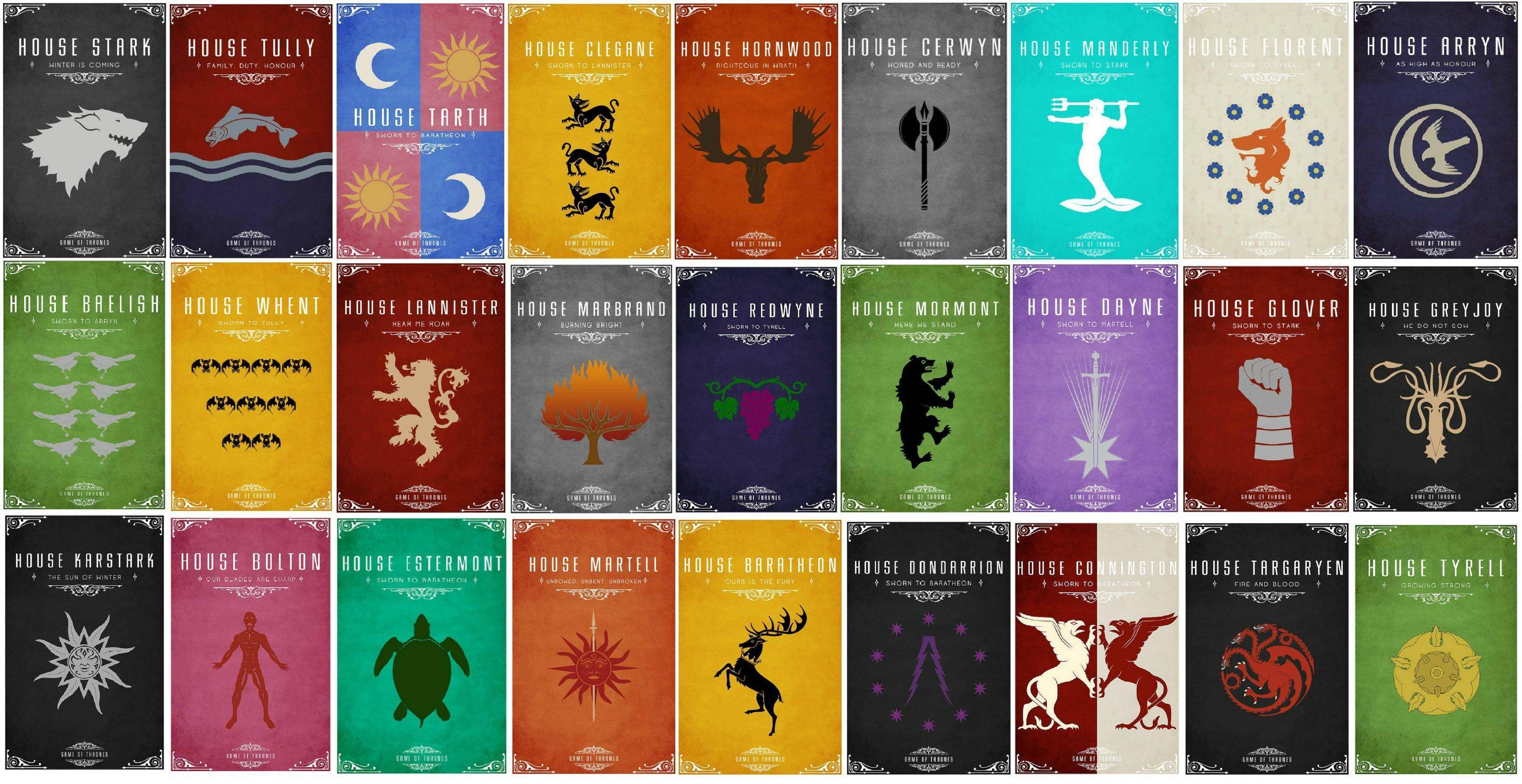 Game Of Thrones House Wallpapers Wallpapersafari