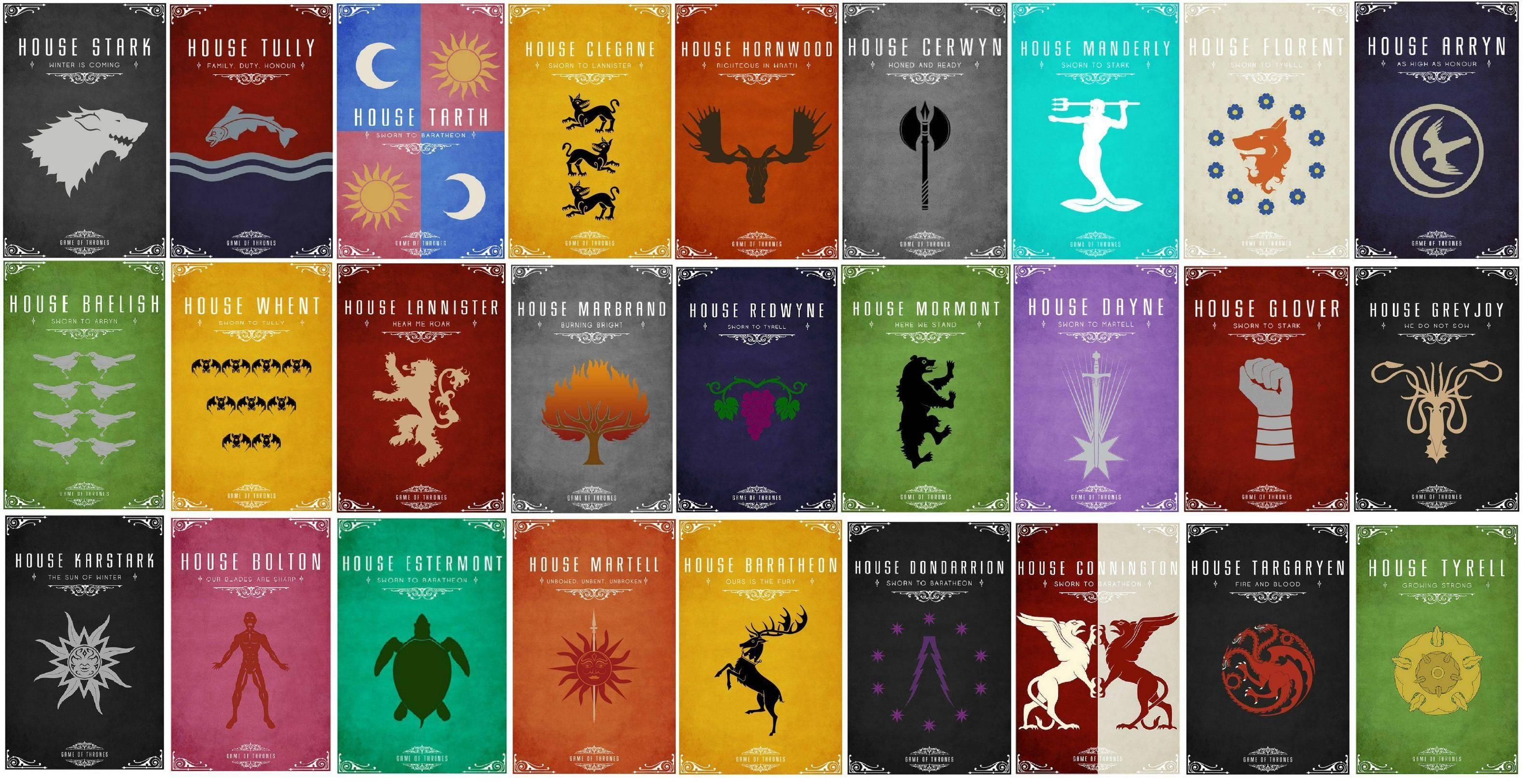 Game Of Thrones House Wallpapers Wallpapersafari