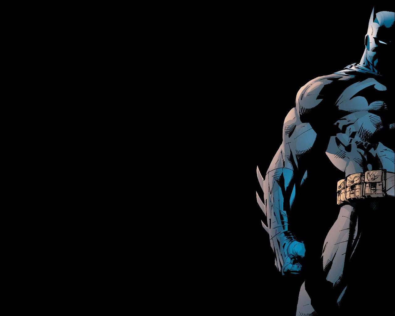 Dark Black Batman Wallpaper   Cartoon Watcher   Batman 1280x1024