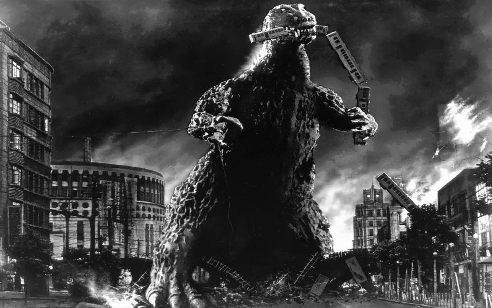 Godzilla Gojira 16801050 Wallpaper 606071 1680x1050