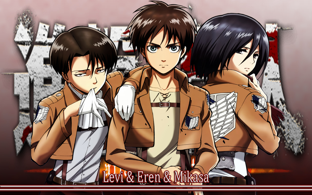 49 Eren And Levi Wallpaper On Wallpapersafari