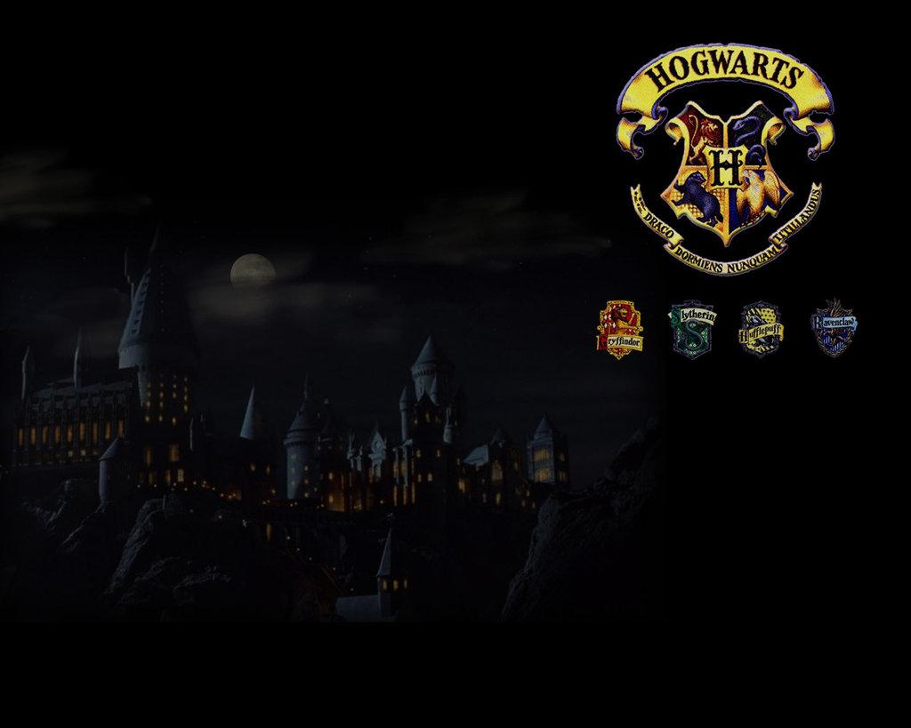 Hogwarts Logo Wallpaper Hogwarts wallpaper by 1024x819