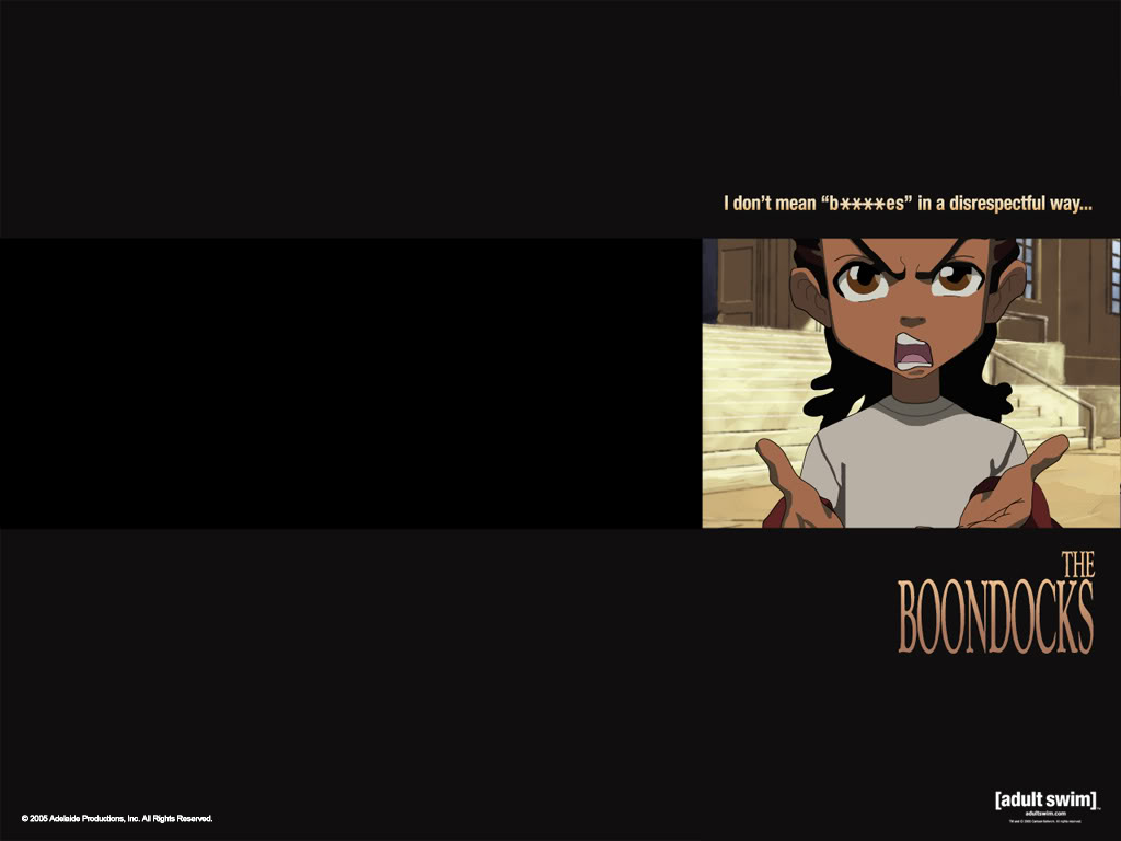 Freeman Wallpaper The Boondocks Riley Freeman Desktop Background 1024x768
