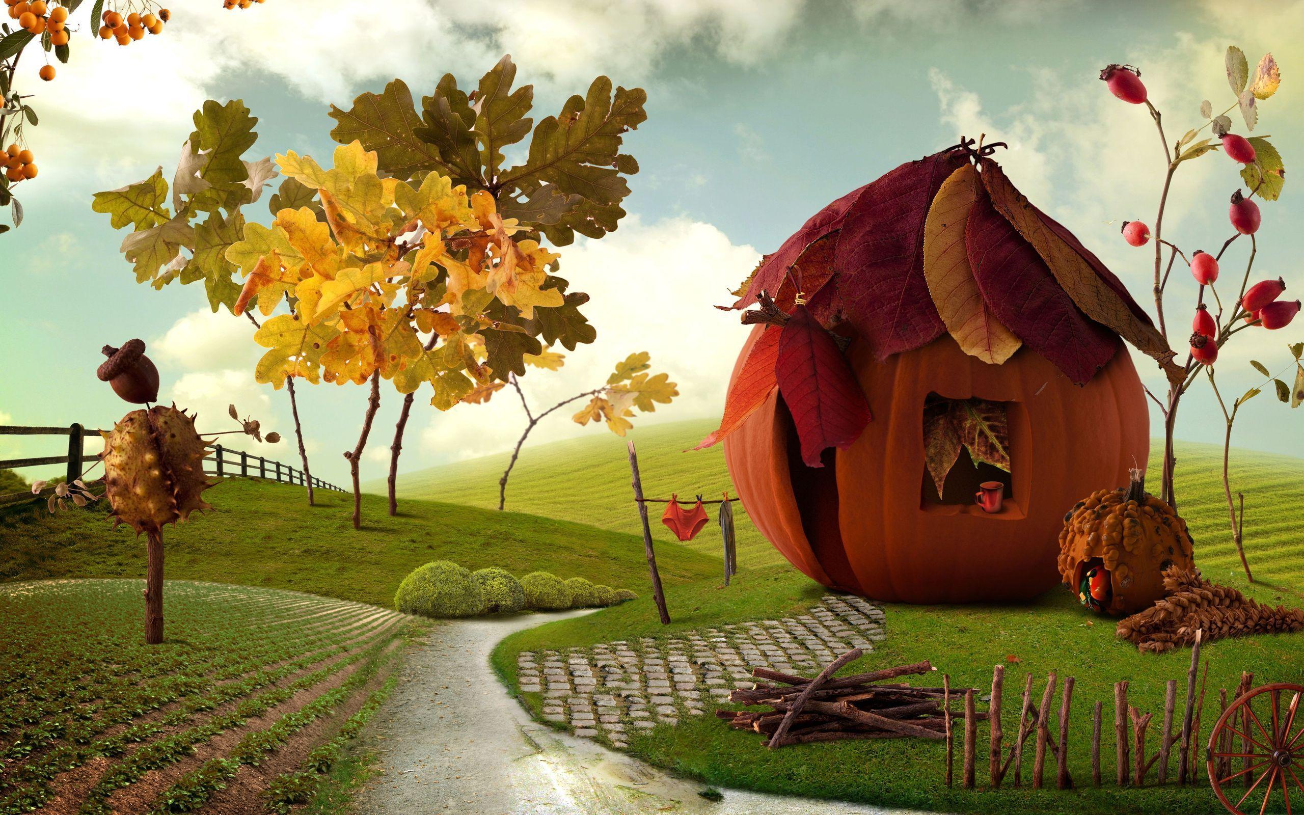 Cute Thanksgiving Wallpaper for Desktop 2560x1600