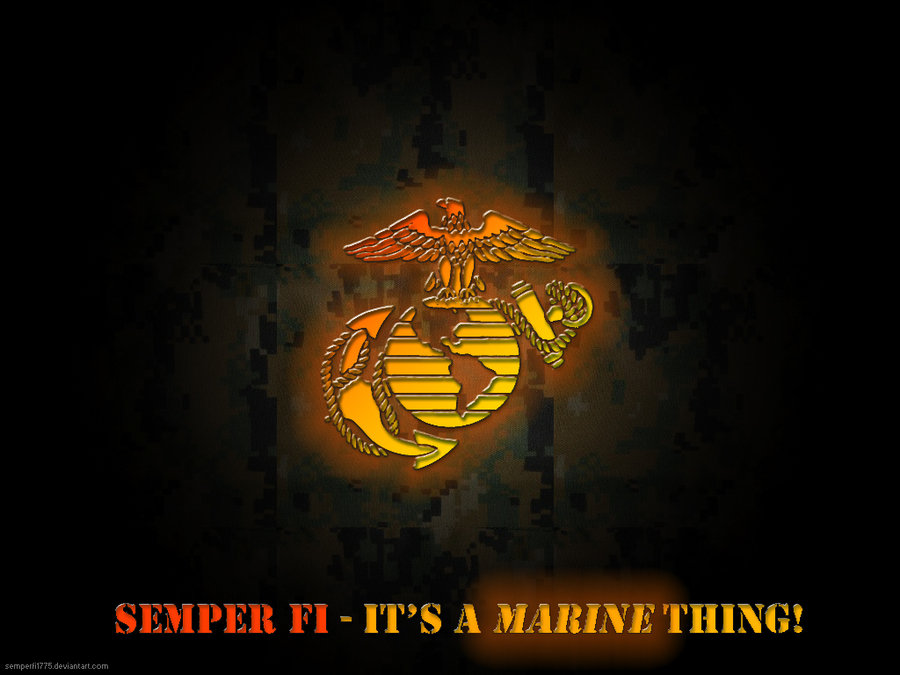 Its a Marine Thing by SemperFi1775 900x675