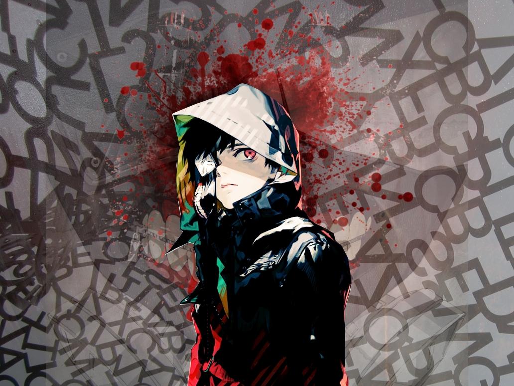 Hd tokyo ghoul wallpaper wallpapersafari - Fanart anime wallpaper ...