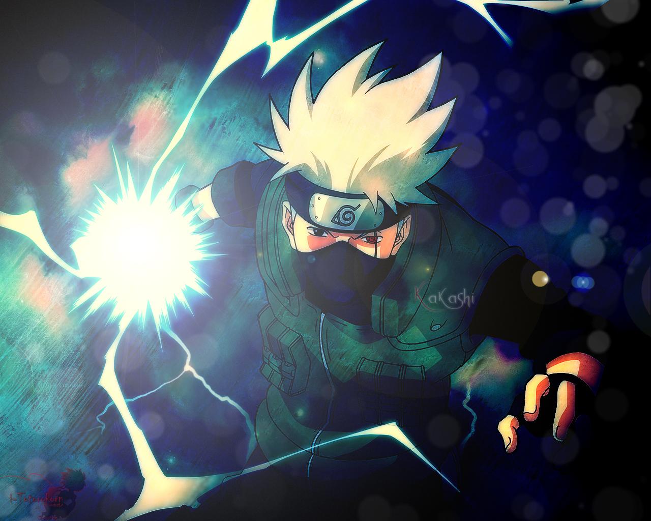 Muitos fs do anime acham Kakashi Hatake o mais forte Com seu 1280x1024