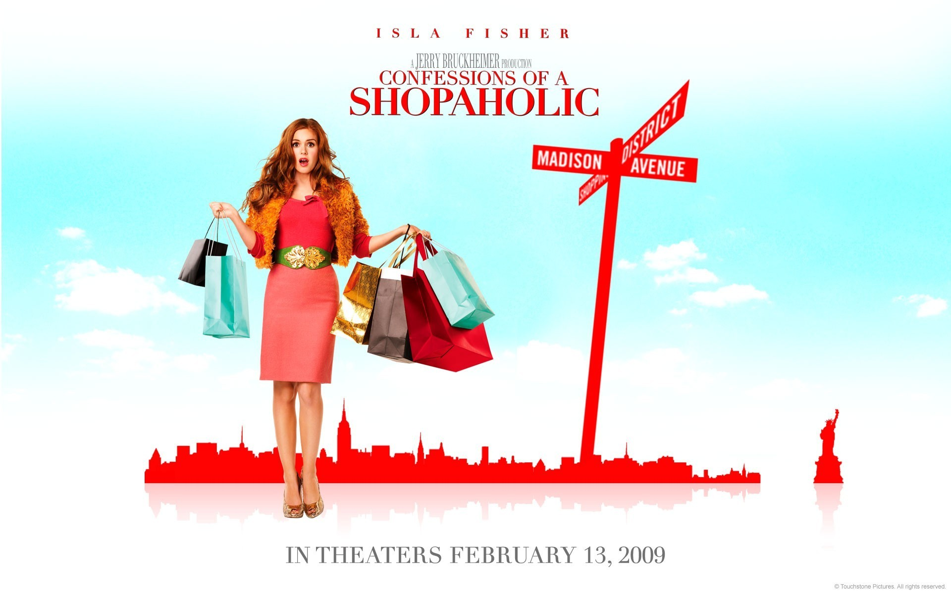 Confessions Of A Shopaholic HD wallpaper 1920x1200