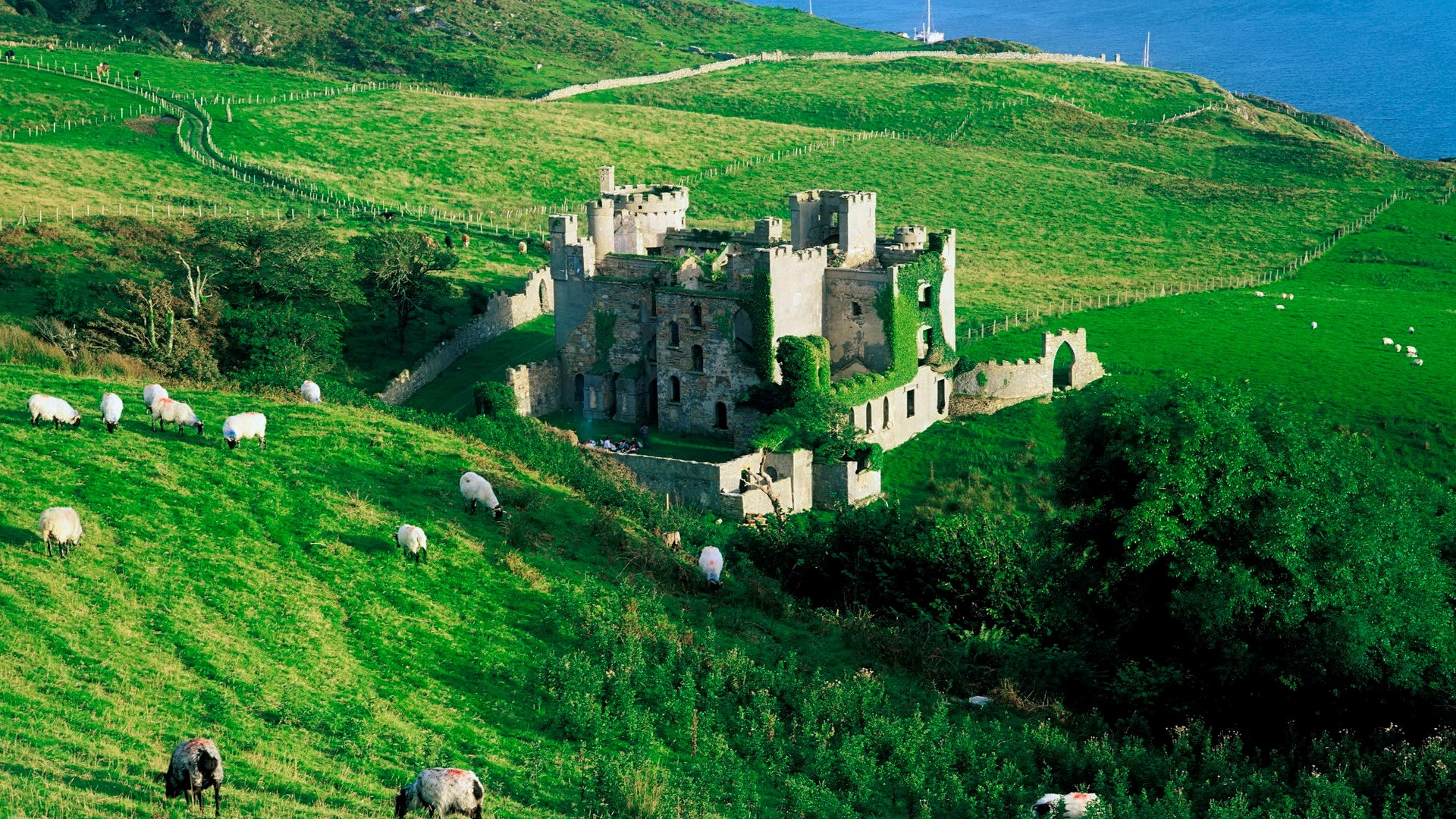 Clifden Castle Ireland Wallpapers HD Wallpapers 1920x1080