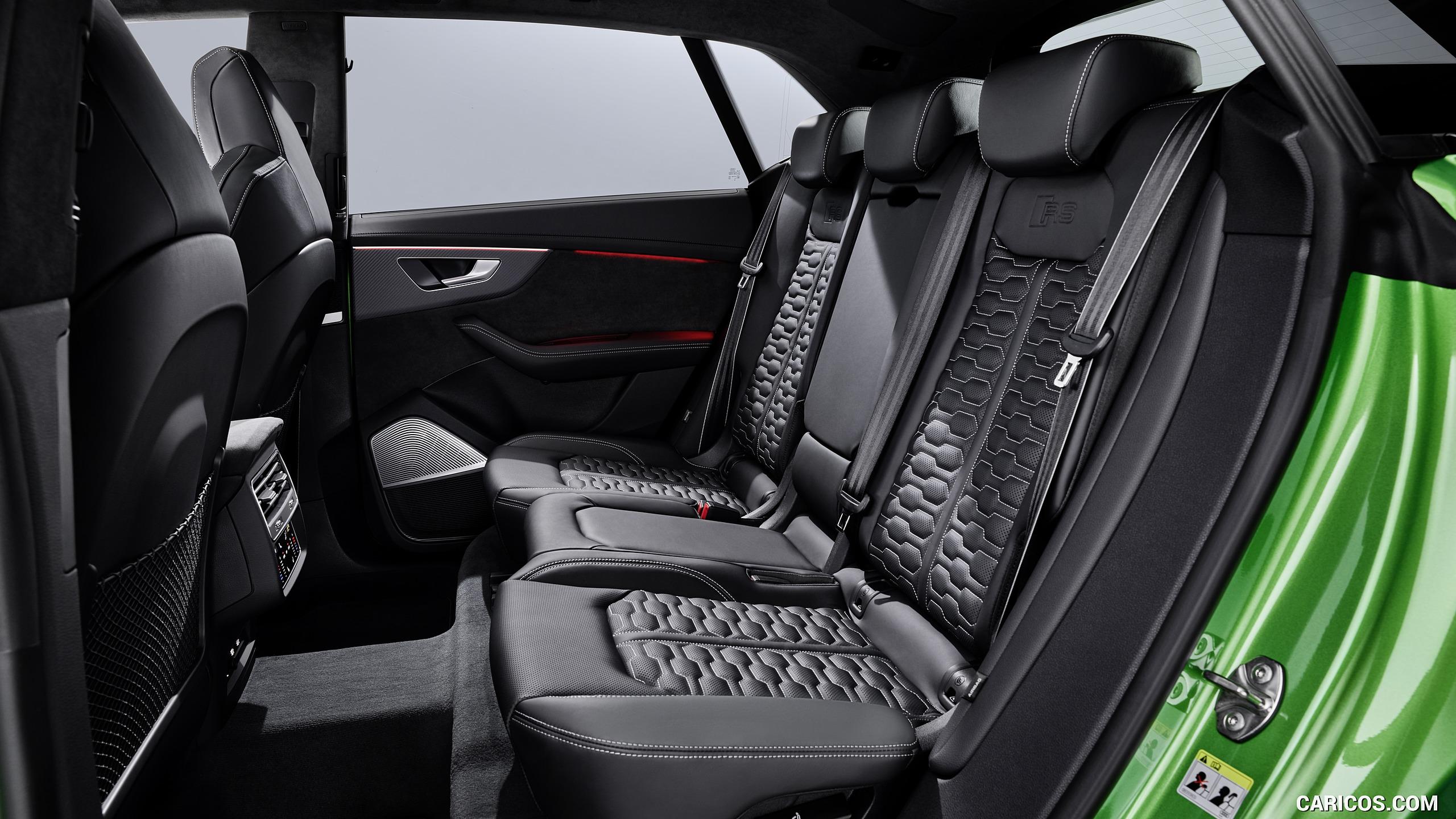 2020 Audi RS Q8   Interior Rear Seats HD Wallpaper 18 2560x1440
