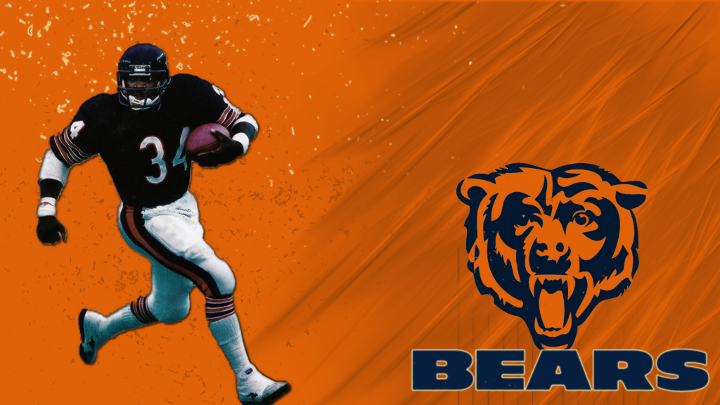 free chicago bears wallpaper desktop background   wwwwallpapers in hd 1024x576