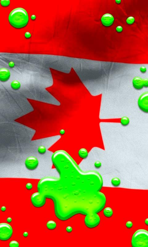 Canada flag live wallpaper   Android Apps on Google Play 480x800