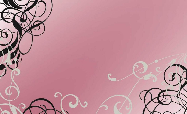Free Download Beautiful Pink Swirls Design Glitter Pink