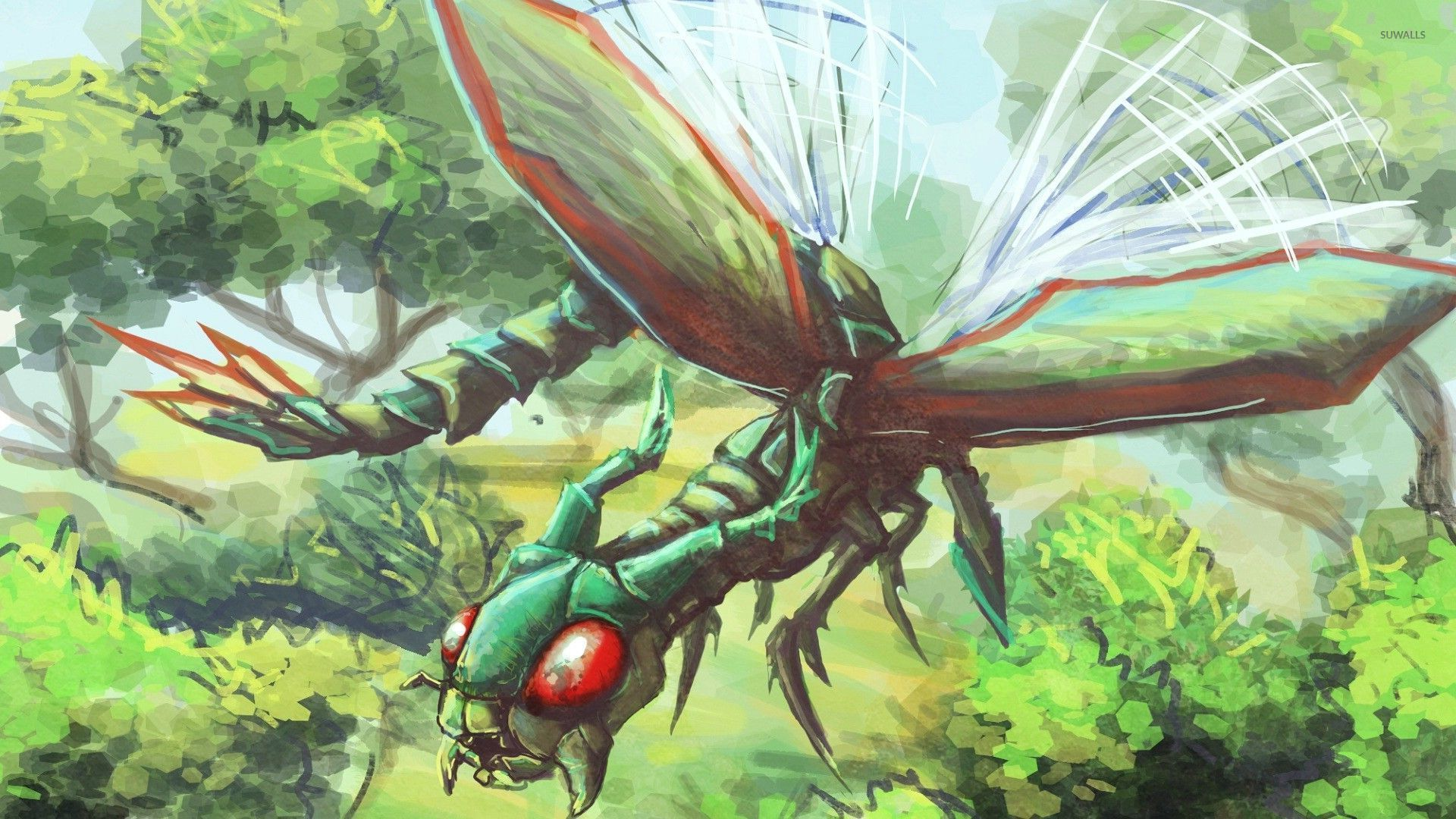 Flygon   Pokemon wallpaper   Anime wallpapers   27224 1920x1080