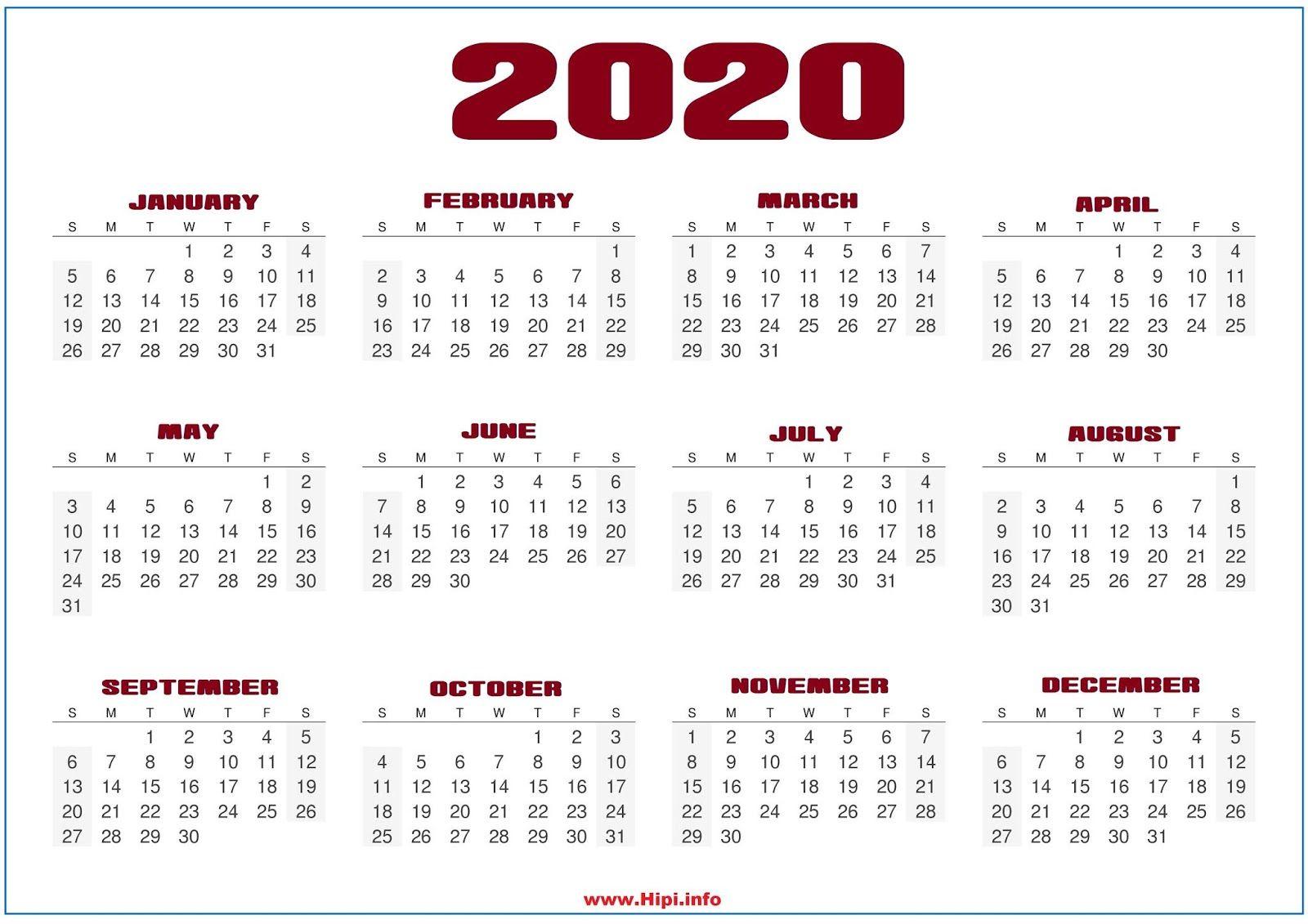 2020 Calendar Wallpapers   Top 2020 Calendar Backgrounds 1600x1131
