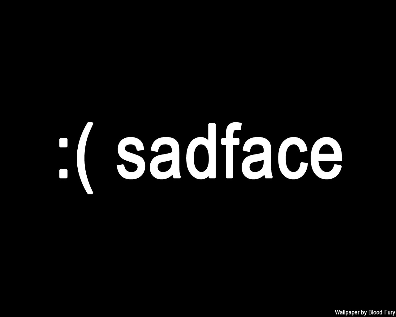 sad face wallpaper   www 1280x1024