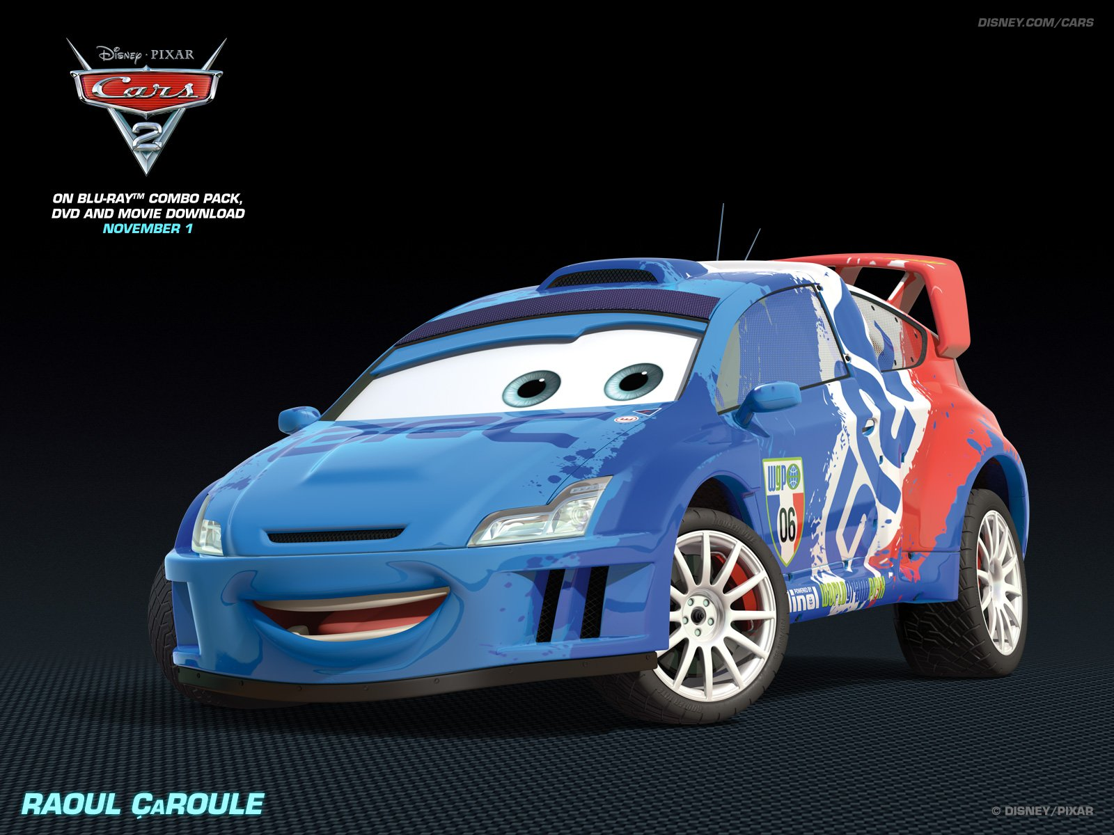 Raoul CaRoule   Disney Pixar Cars 2 Wallpaper 28399918 1600x1200