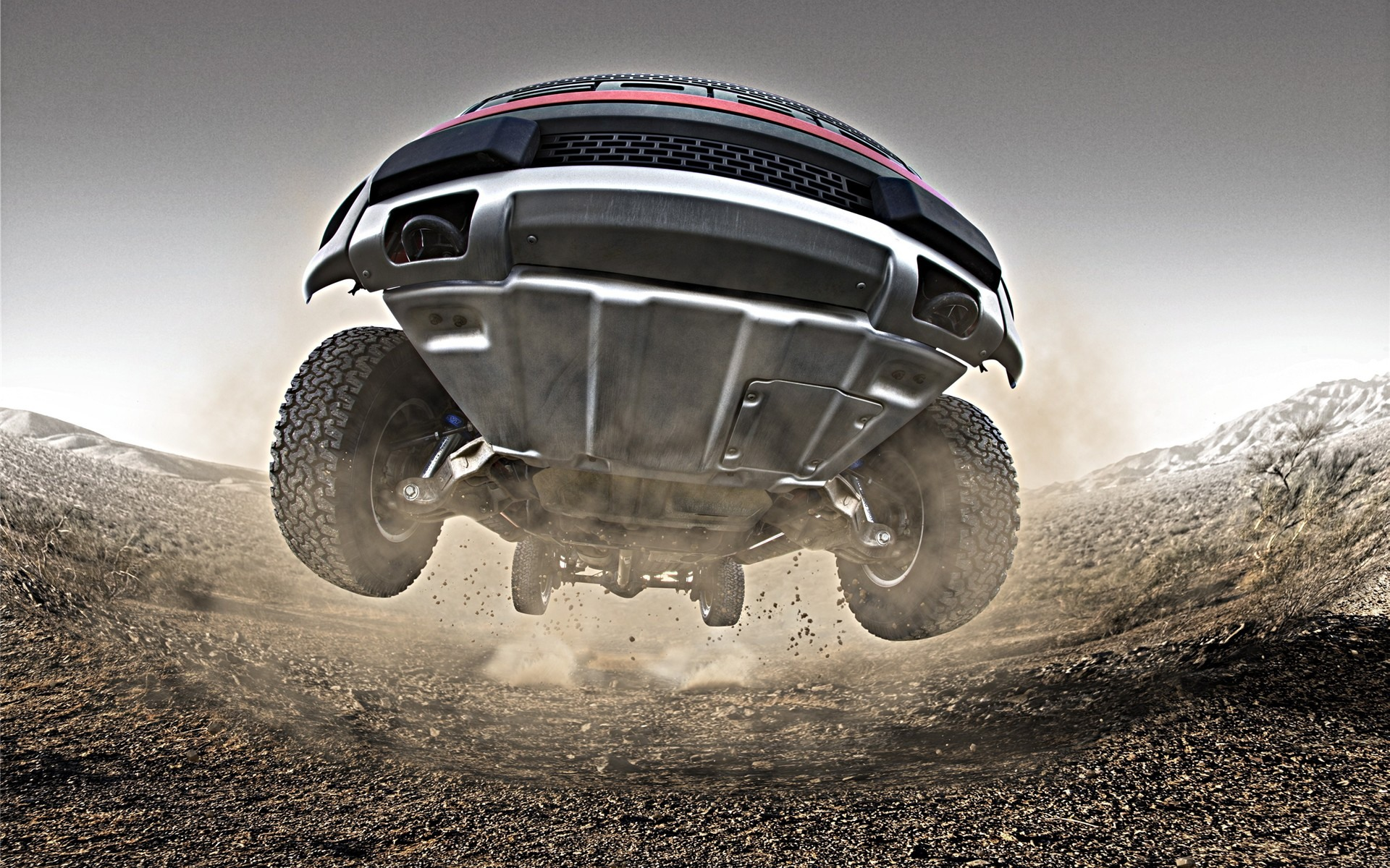 Ford Offroading Wallpaper 1920x1200