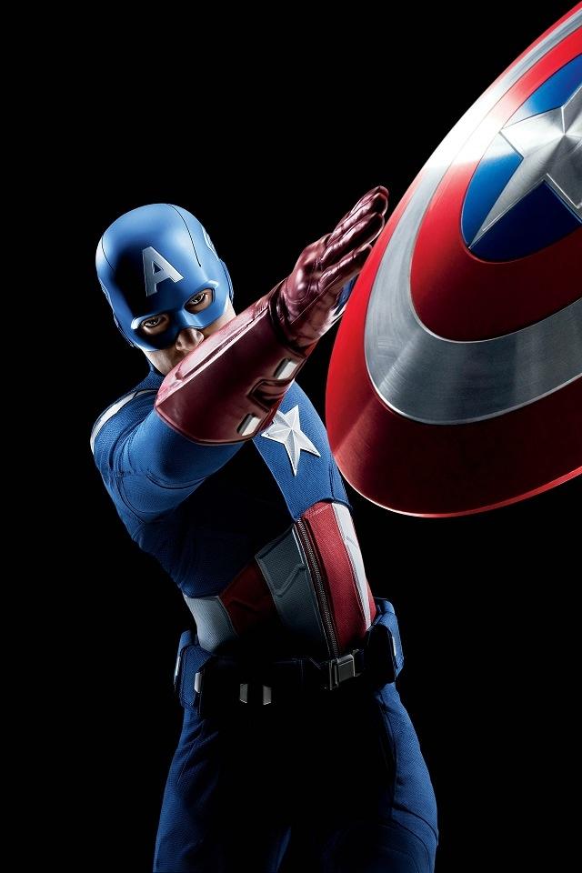Captain America 640x960