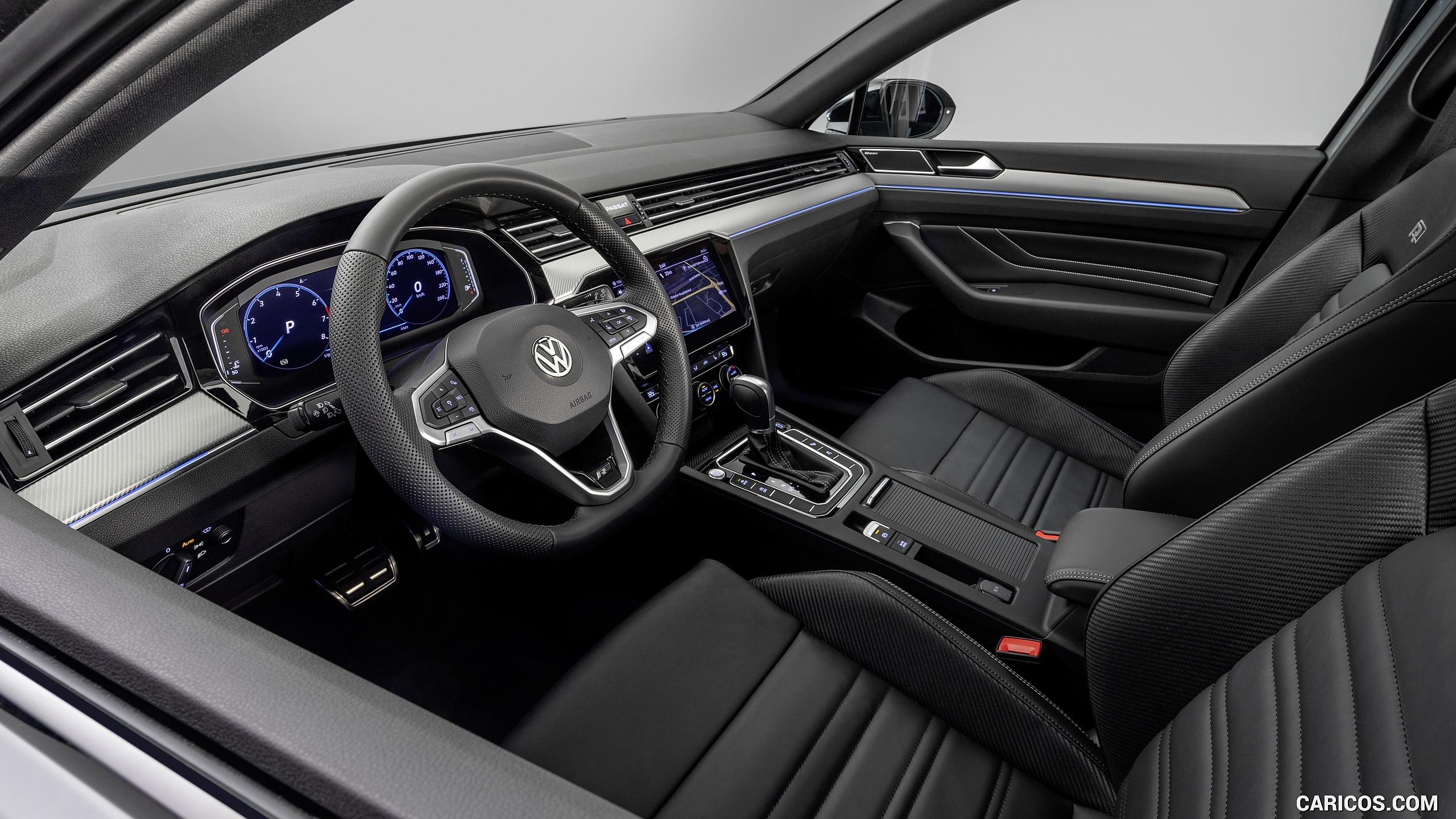 2019 Volkswagen Passat Variant R Line Edition EU Spec   Interior 2560x1440