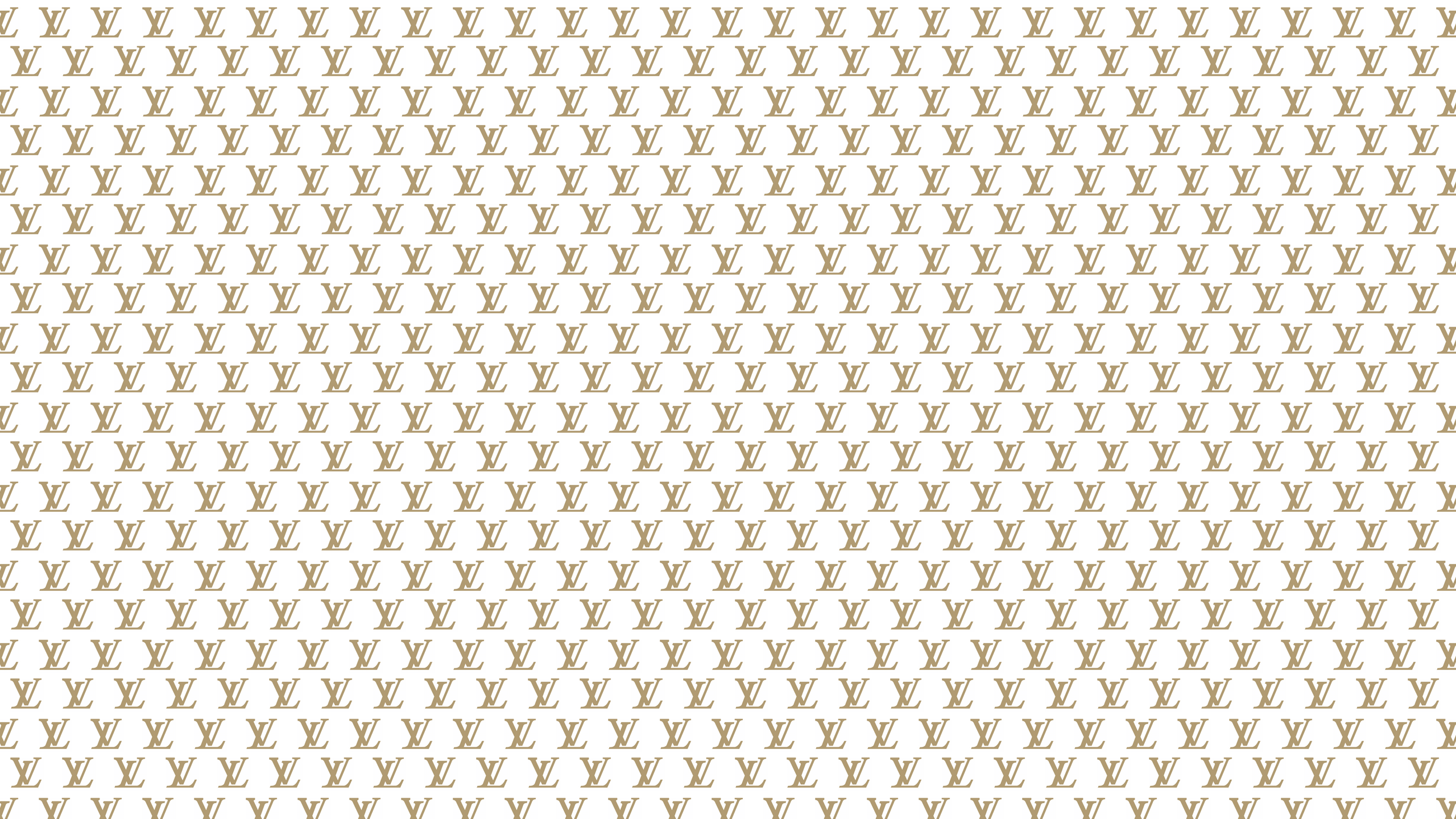 Gold Louis Vuitton Desktop Wallpaper is easy Just save the wallpaper 2560x1440