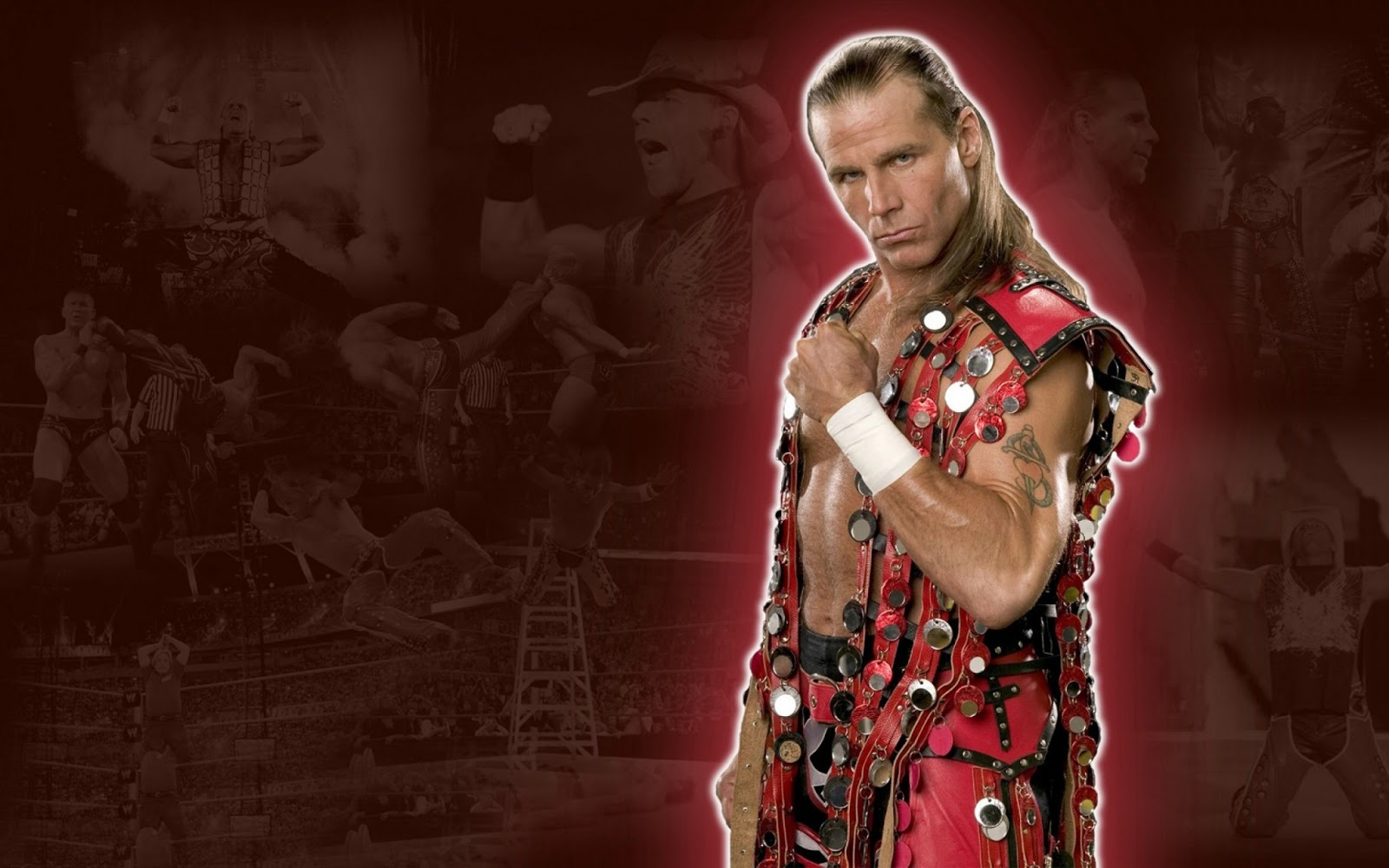 All Wallpapers WWE Shawn Michael hd New Nice Wallpapers 2013 1600x1000